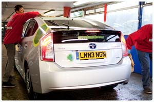 Fleet Cleaning - American Carwash Company - London