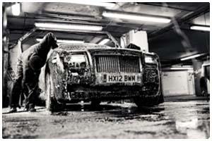 Drive Thru Car Wash at American Carwash