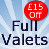 Save £15 on a Full Valet